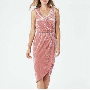JustFab Wrap Midi Dress